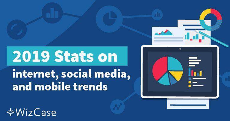 2019年互联网和社交媒体的23项惊人的统计数据 Wizcase