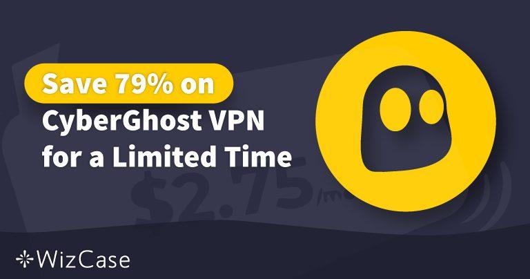2020年有效的CyberGhost VPN优惠码:立即节省高达79%